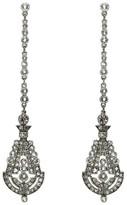 Ben-Amun Women's 'Deco' Crystal Drop Earrings