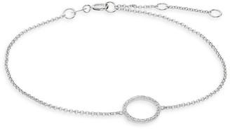 Effy 14K White Gold Diamond Circle Bracelet