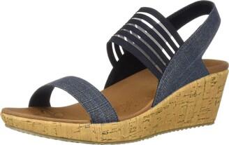 Skechers Cali Beverlee-Smitten Kitten Women's Sandal 8.5 B(M) US Navy