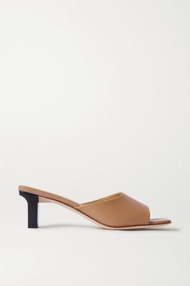 AEYDĒ Katti Leather Mules