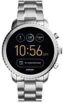 Fossil Q Explorist Silver Smartwatch