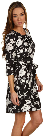 Kate Spade Dorothy Three-Quarter Sleeve Dress