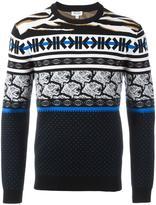 Kenzo fair isle jumper - men - Polyamide/Wool - XS