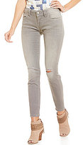 Miss Me Blowout Detail Distressed Skinny Jeans
