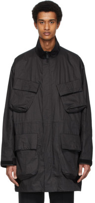 N.Hoolywood Black Military Jacket