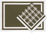 Asstd National Brand Lattice Links Set of 4 Napkins