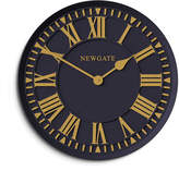 Newgate Coach House Wall Clock - Petrol Blue