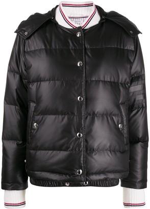 Thom Browne Detachable Hood Puffer Jacket