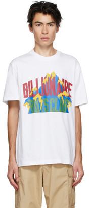 Billionaire Boys Club White Mountain Logo T-Shirt