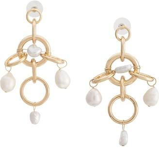 Dannijo Luis embellished drop earrings