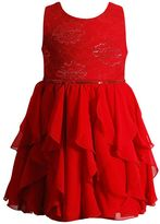 Youngland Toddler Girl Woven Waterfall Skirt Occasion Dress