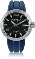 Locman Change Stainless Steel Round Case Automatic Men's Watch w/ Silicone & Leather Straps
