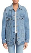 Alexander Wang Women's Daze Oversized Denim Jacket