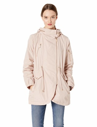 French Connection Women's 3/4 Tulip Hem Anorak