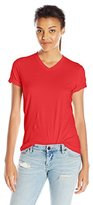 American Apparel Women's Fine Jersey Classic V-Neck Top