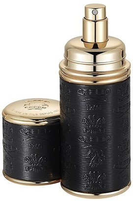 Creed Black with Gold Trim Leather Deluxe Atomizer