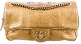 Chanel Python Camera Flap Bag
