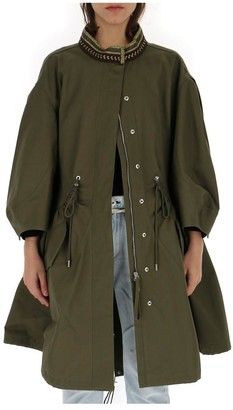 Alberta Ferretti Oversized Parka Jacket