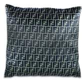 Fendi Casa Silk Logo Cushion