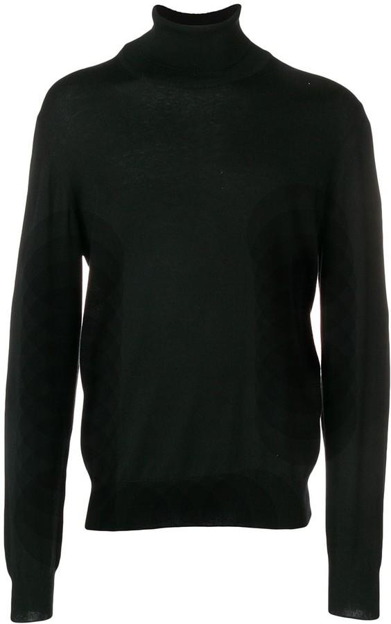 Maison Margiela elbow patch turtleneck sweater
