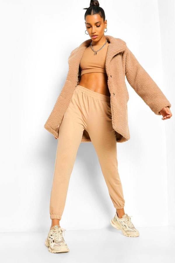 Thumbnail for your product : boohoo Button Through Teddy Faux Fur Coat