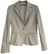 BOSS Beige Cotton Jacket for Women