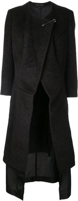 Comme des Garcons Pre-Owned layered coat