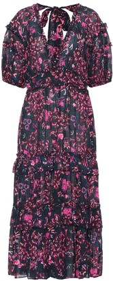 Ulla Johnson Amora floral cotton-blend dress