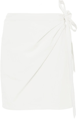 Ciao Lucia Ponza Cotton-Poplin Mini Skirt