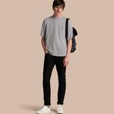 Burberry Striped Cotton Linen T-shirt