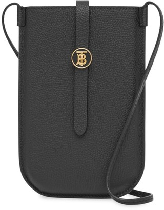 Burberry Anne Leather Crossbody Phone Case