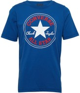Converse Junior Boys Chuck Patch T-Shirt Blue Jay