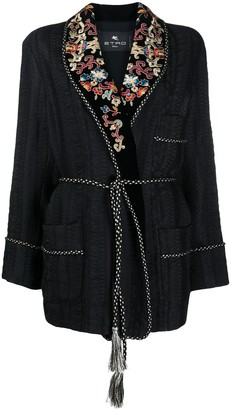 Etro Embroidered Lapel Jacket