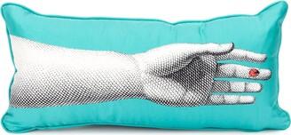 Fornasetti Lady Bug Print Pillow