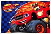 "Blaze and the Monster Machines - ""Zoom"" Fleece Blanket - Large Print"