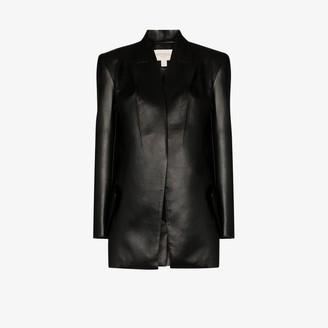 MATÉRIEL Faux Leather Blazer