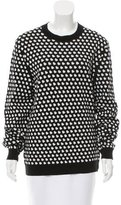 Marc by Marc Jacobs Polka Dot Crew Neck Sweater