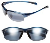 Maui Jim Women's River Jetty 63Mm Polarizedplus2 Sunglasses - Blue/ Neutral Grey