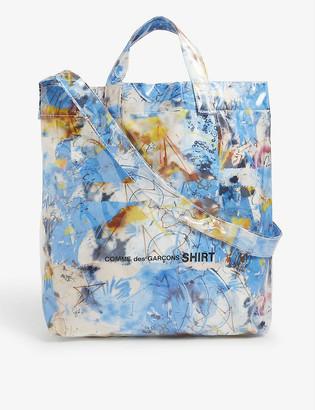 Comme des Garçons Shirt Graphic-print vinyl tote bag