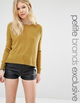 Noisy May Petite Cropped Sweater