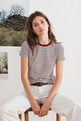 Velvet by Graham & Spencer Adina Stripe Knit Tee