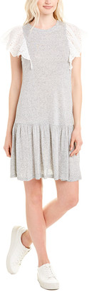 Rebecca Taylor Eyelet Shift Dress