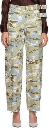Miaou Grey and Blue Camouflage Daisy Trousers