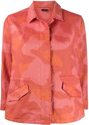 Aspesi Camouflage-Print Fitted Jacket