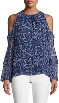 Ramy Brook Women's Norma Cold-Shoulder Top