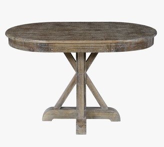 Pottery Barn Hyeres Oval Pedestal Dining Table