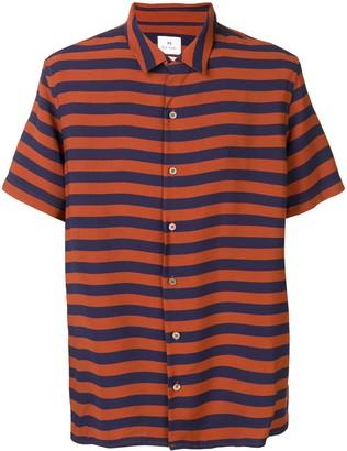 Paul Smith Striped Button Shirt