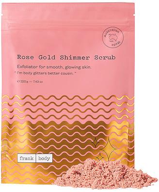 Frank Rose Gold Shimmer Scrub