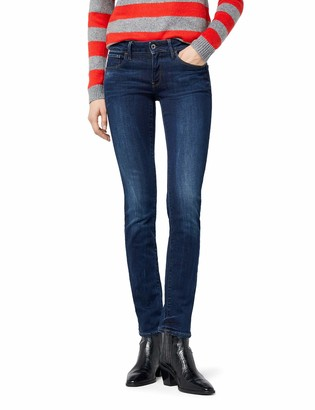 G Star Women's 3301 Deconstructed Mid Waist Straight Jeans
