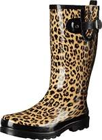 Western Chief Women's Leopardess Rain Boot